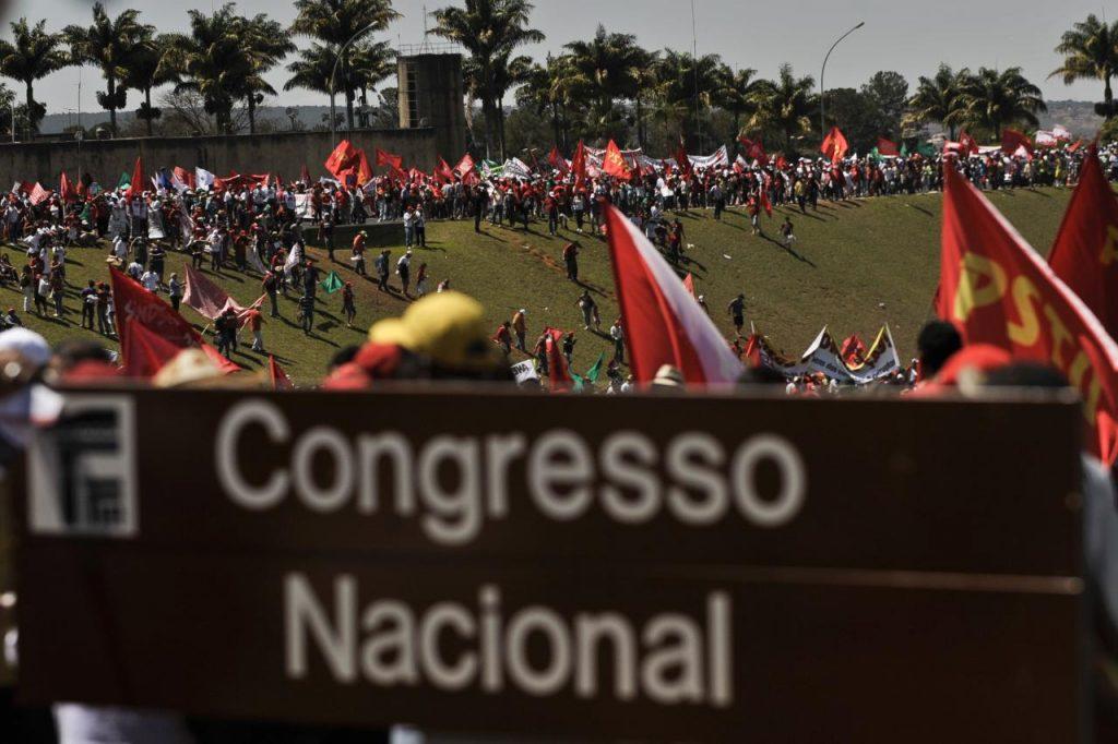 Trabalhadores no Congresso Nacional