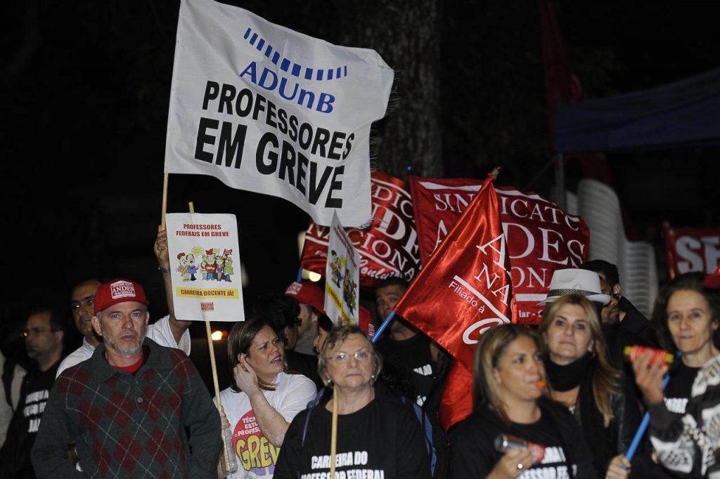 Instituições Federais de Ensino Superior (Ifes) em greve nacional desde 17 de ma